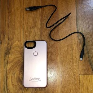 iPhone 7 Rose Gold LuMes Case